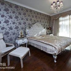 115平米混搭别墅卧室装修设计效果图片大全