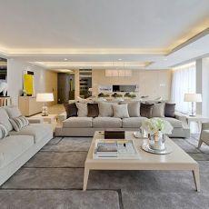 精选121平米四居客厅现代装修欣赏图片