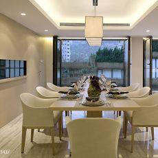 现代风格家装餐厅吊顶效果图片