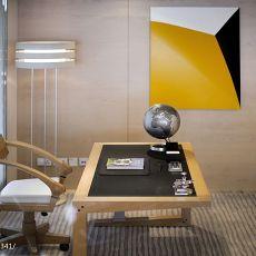 精选114平米四居书房现代装修效果图