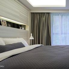 120平米四居卧室现代装修欣赏图片大全
