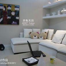 大小74平混搭二居客厅欣赏图片大全