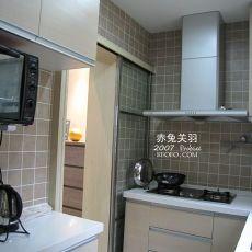 70平米二居厨房混搭装修设计效果图片