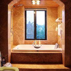 热门别墅卫生间美式装饰图片