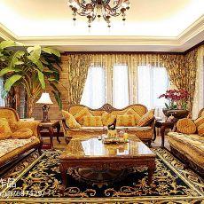 热门144平米美式别墅客厅装饰图片欣赏