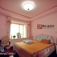 欧式卧室墙面颜色效果图