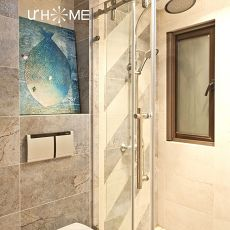 精选面积105平混搭三居卫生间装修设计效果图片