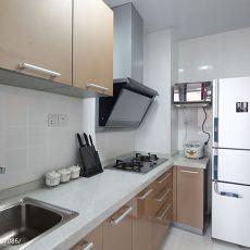 面积96平混搭三居厨房装修图