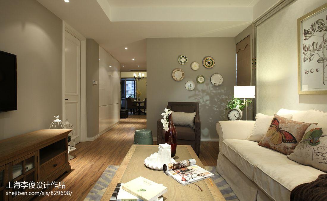 大小70平混搭二居客厅装修图片
