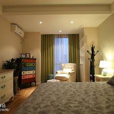 精美面积79平混搭二居卧室装修欣赏图片