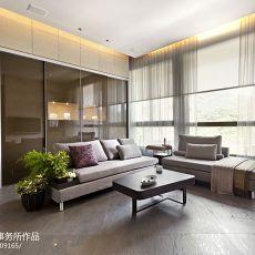 2018精选99平米三居客厅现代设计效果图