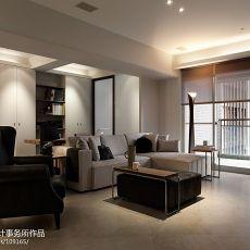 精选74平方二居客厅现代装修实景图片欣赏