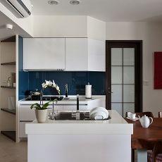 2018面积82平现代二居厨房装修欣赏图片