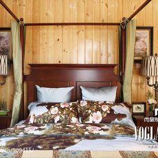 112平米混搭别墅卧室设计效果图