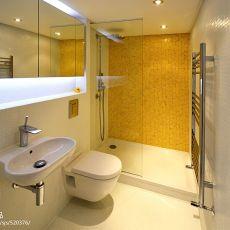 2018121平米现代复式卫生间装饰图片