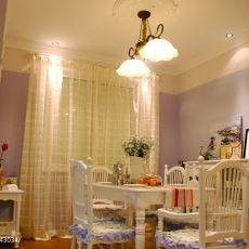 精美面积80平混搭二居餐厅装修设计效果图片
