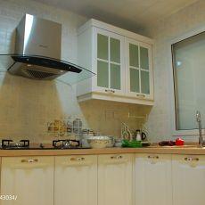 精选面积80平混搭二居厨房实景图