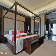2018精选110平米混搭复式卧室装修图片欣赏