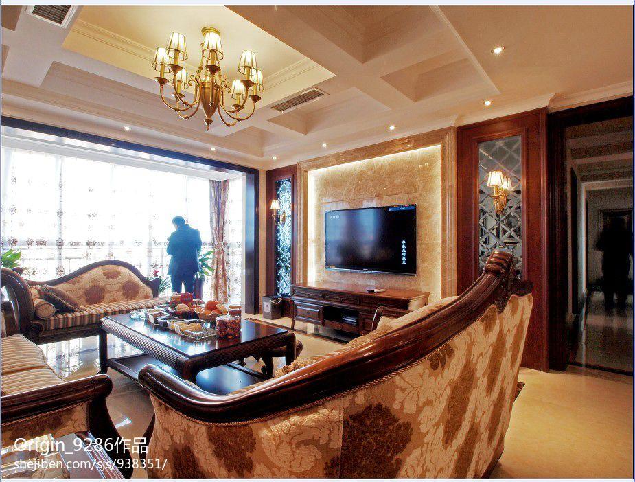 温馨现代风格卧室室内设计效果图