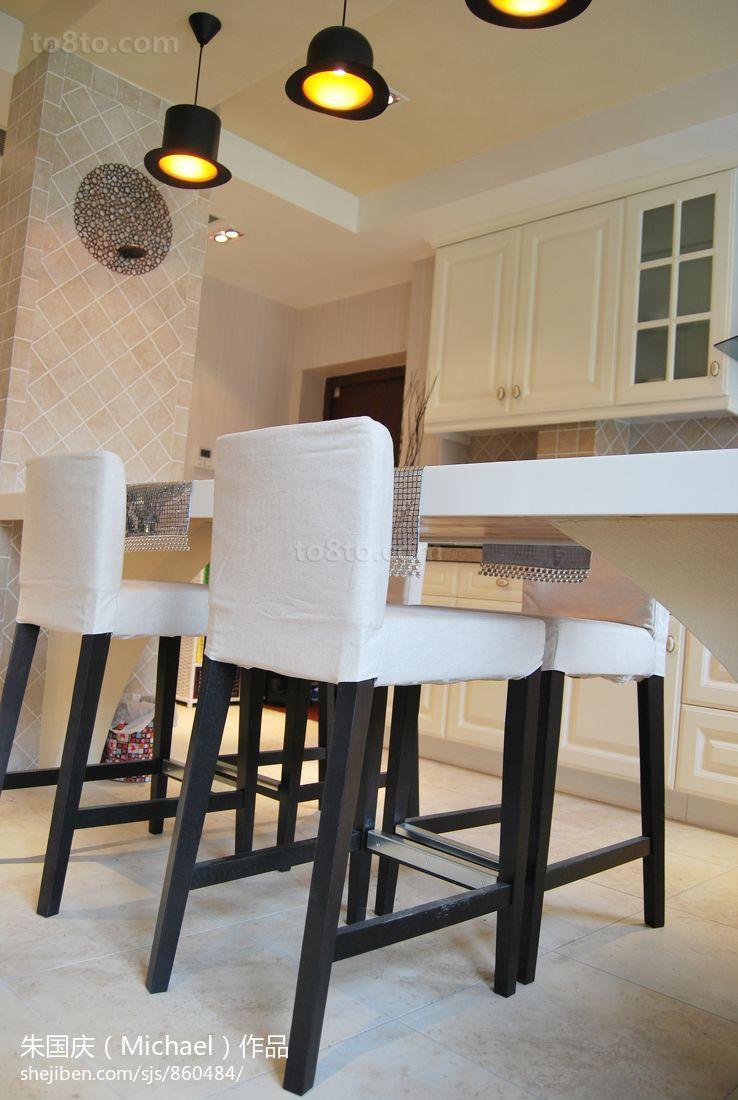 餐厅白色椅子图片欣赏