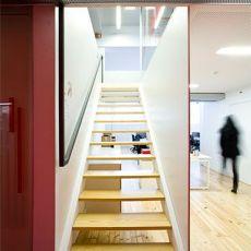 办公室实木楼梯装修设计图