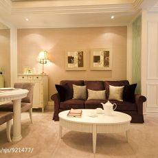 精美70平米混搭小户型客厅装饰图