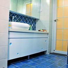 地中海风格洗手间装修图片