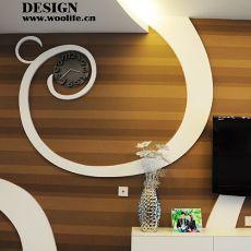 现代风格客厅电视柜背景墙效果图欣赏