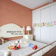 精美122平米欧式复式卧室装饰图片大全