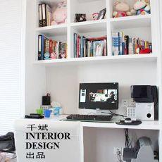 精美面积100平混搭三居书房装饰图片大全