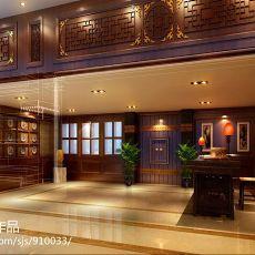 热门112平米混搭别墅客厅装修设计效果图片