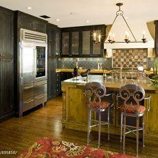精美混搭厨房装修实景图片欣赏