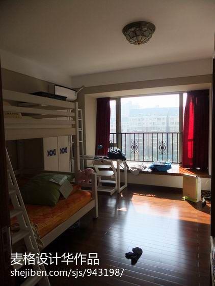 热门面积94平混搭三居儿童房装修效果图片大全