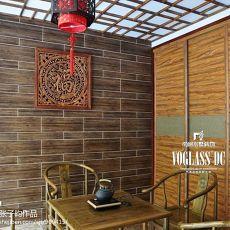 中式风格休闲茶室装修效果图