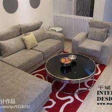 2018精选大小87平现代二居客厅装饰图片欣赏