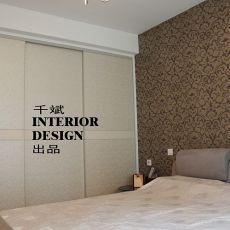 精选面积92平欧式三居卧室装修设计效果图片