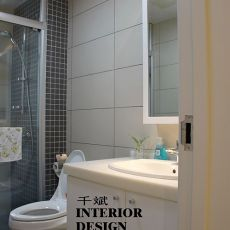 卫生间洗手台柜子效果图片