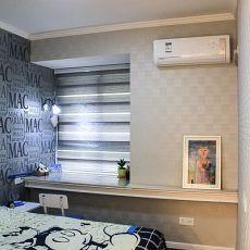 102平米三居卧室现代装修图