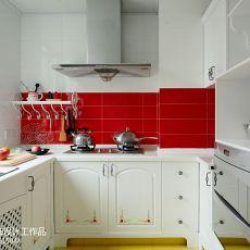 精美85平米二居厨房欧式装修实景图片