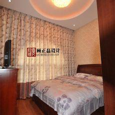 精美面积106平欧式三居卧室装修效果图片