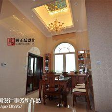 热门96平米三居餐厅欧式欣赏图片大全