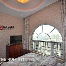 大小105平欧式三居卧室效果图片