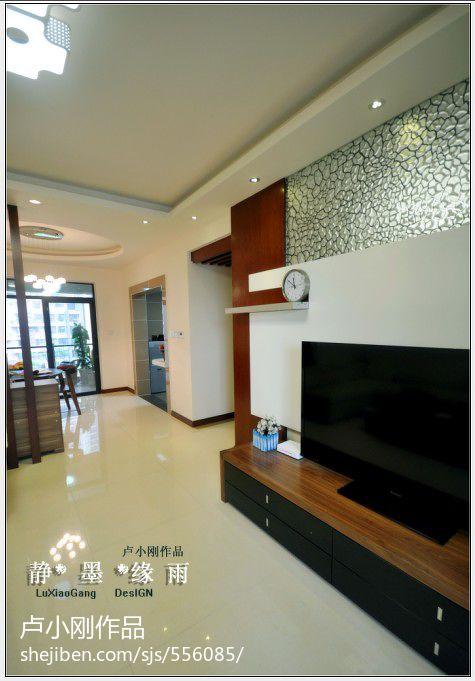 热门119平米四居客厅混搭欣赏图片大全