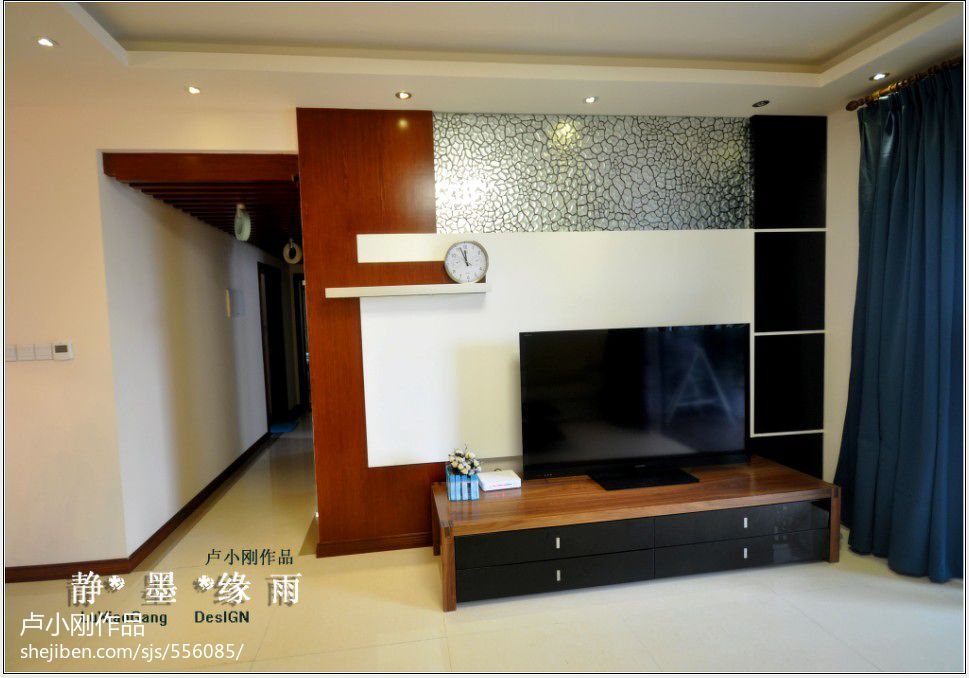 精选137平方四居客厅混搭装修设计效果图片大全