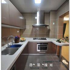 精美126平米四居厨房混搭装饰图片大全