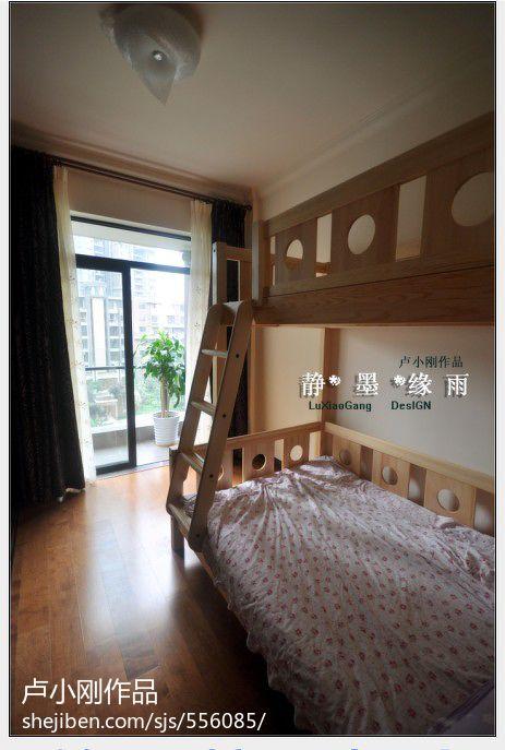 热门面积111平混搭四居儿童房效果图片