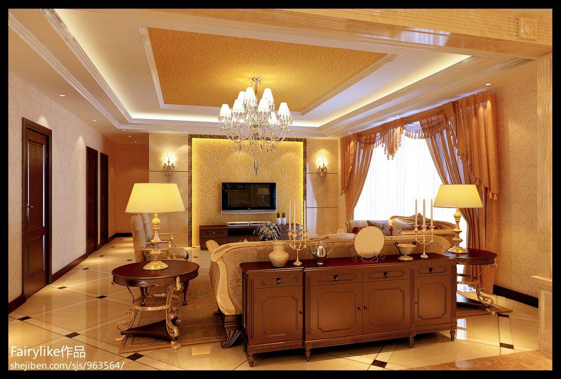 现代时尚家居一居室效果图