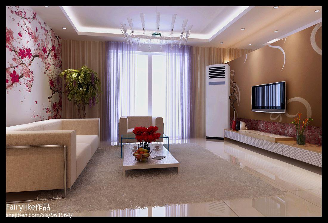 现代时尚家居客厅效果图