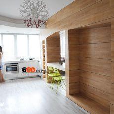精选面积81平现代二居厨房效果图片欣赏