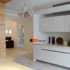 现代二居厨房装修图片